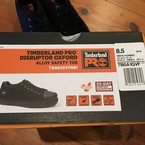 Timberland Pro Disruptor Oxford Alloy Safety Toe NWT